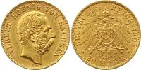 20 Mark Gold 1894  E Sachsen Albert 1873-1902. Sehr schön - vorzüglich  395,00 EUR envoi gratuit