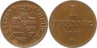 Pfennig 1865  B Sachsen-Altenburg Ernst 1853-1908. Vorzüglich - Stempel... 115,00 EUR  + 4,00 EUR frais d'envoi