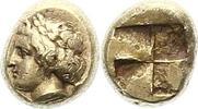 1/6 Stater  477 - 388 v. Chr. Ionien unbek. Herrscher 477 - 388. Minima... 645,00 EUR envoi gratuit