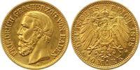 10 Mark Gold 1898  G Baden Friedrich I. 1856-1907. Vorzüglich +  240,00 EUR  + 4,00 EUR frais d'envoi