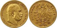 10 Mark Gold 1873  A Preußen Wilhelm I. 1861-1888. Fast sehr schön  175,00 EUR  + 4,00 EUR frais d'envoi