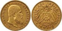 10 Mark Gold 1898  F Württemberg Wilhelm II. 1891-1918. Sehr schön - vo... 235,00 EUR  + 4,00 EUR frais d'envoi