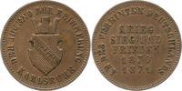 Gedenkkreuzer 1871 Baden-Durlach Friedrich I. 1852-1907. Vorzüglich +  15,00 EUR  zzgl. 4,00 EUR Versand