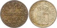 1 Kreuzer 1871 Bayern Ludwig II. 1864-1886. Fast Stempelglanz  8,00 EUR  zzgl. 4,00 EUR Versand