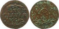 Cu Deut 1695 Brandenburg-Preußen Friedrich III. 1688-1701. Fast sehr sc... 12,00 EUR  zzgl. 4,00 EUR Versand