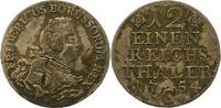 1/12 Taler 1754  C Brandenburg-Preußen Friedrich II. 1740-1786. Kl. Sch... 38,00 EUR  zzgl. 4,00 EUR Versand
