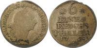 1/6 Taler 1765  C Brandenburg-Preußen Friedrich II. 1740-1786. Selten. ... 30,00 EUR  zzgl. 4,00 EUR Versand