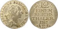 1/12 Taler 1767  E Brandenburg-Preußen Friedrich II. 1740-1786. Sehr sc... 30,00 EUR  zzgl. 4,00 EUR Versand