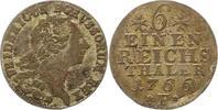 1/6 Taler 1766  F Brandenburg-Preußen Friedrich II. 1740-1786. Sehr sch... 75,00 EUR  zzgl. 4,00 EUR Versand