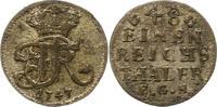 1/48 Taler 1747 Brandenburg-Preußen Friedrich II. 1740-1786. Sehr schön  16,00 EUR  zzgl. 4,00 EUR Versand