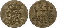 1/24 Taler 1757  F Brandenburg-Preußen Friedrich II. 1740-1786. Winz. S... 14,00 EUR  zzgl. 4,00 EUR Versand