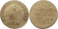 2 Gröscher 1 1773  E Brandenburg-Preußen Friedrich II. 1740-1786. Winz.... 28,00 EUR  zzgl. 4,00 EUR Versand