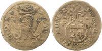 1/24 Taler 1691 Braunschweig-Wolfenbüttel Rudolf August und Anton Ulric... 15,00 EUR  zzgl. 4,00 EUR Versand