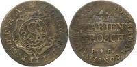 Lippe, Grafschaft 4 Mariengroschen Simon August 1734-1782.