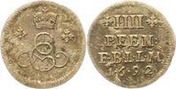 Braunschweig-Calenberg-Hannover 4 Pfennig Landmünze 1 Ernst August 1679-1698.