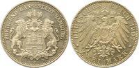 2 Mark 1907  J Hamburg  Vorzüglich aus Polierte Platte  95,00 EUR  +  4,00 EUR shipping