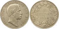 Baden-Durlach Gulden Friedrich I. 1852-1907.