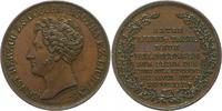 Sachsen-Coburg-Gotha Bronzemedaille Ernst I. 1826-1844.