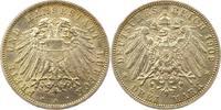 3 Mark 1909  A Lübeck  Vorzüglich - Stempelglanz  185,00 EUR  +  4,00 EUR shipping