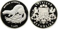 1 Lats 1999 Lettland / Latvijas Republik 1990 - heute 1990-2016. Polier... 165,00 EUR  zzgl. 4,00 EUR Versand