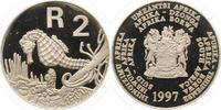 2 Rand 1997 Südafrika  Polierte Platte  75,00 EUR  zzgl. 4,00 EUR Versand