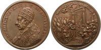 Italien-Kirchenstaat Vatikan Bronzemedaille Benedict XIII. 1723-1730.