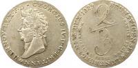 2/3 Taler 1829  C Braunschweig-Calenberg-Hannover Georg IV. 1820-1830. ... 275,00 EUR Gratis verzending