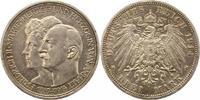 3 Mark 1914  A Anhalt Friedrich II. 1904-1918. Winz. Randfehler, fast v... 60,00 EUR  Excl. 4,00 EUR Verzending