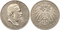 2 Mark 1901  A Reuß, ältere Linie Heinrich XXII. 1859-1902. Winz. Randf... 315,00 EUR Gratis verzending