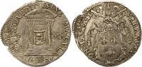 Italien-Kirchenstaat Vatikan Testone Urban VIII 1623-1644.