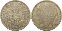 Rubel 1878 Russland Alexander II. 1855-1881. Sehr schön  125,00 EUR  Excl. 4,00 EUR Verzending