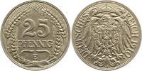 Kleinmünzen 25 Pfennig