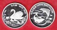 China weißer Schwan und Delphine, Tierwelt, WWF, E