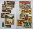 braunschweig 10 (2),25 (3),50,75 pfennig braunschweig, 10,25,50,75 pfennig 1921, LOT 7 st. verschiedene.