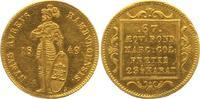 Dukat 1849 Hamburg, Freie und Hansestadt  wz. Randfehler und Kratzer, v... 700,00 EUR  +  12,50 EUR shipping