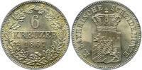6 Kreuzer - R 1867 Bayern, Königreich Ludwig II. (1864-1886) Prachtexem... 600,00 EUR  +  12,50 EUR shipping