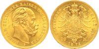 Deutsches Kaiserreich, Preußen 20 Mark Wilhelm I. (1861-1888, Regent seit 1858)