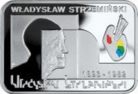 20 Zloty 2009 Polen - Poland - Polska Wladyslaw Strzeminski – Maler Polierte Platte Farbe