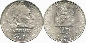 25 Kronen 1970 CSR/ CSSR / CSFR - Tschechoslowakei Befreiung - 25. Jahrestag unzirkuliert
