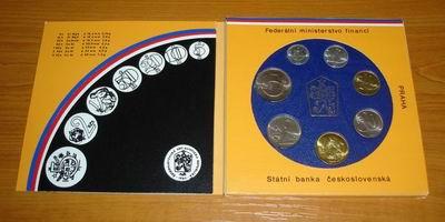 8,85 Kcs 1987 Tschechien CSFR Original KMS unz.
