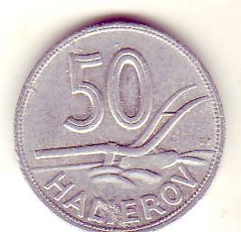 50 Heller 1943 Slowakei - Slowakischer Staat 1939-1945 Umlaufmünze fvz-vz