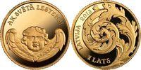 1 Lats 2013 Lettland - Latvija - Latvia Oh, das Heilige Lestene Poliert... 73,00 EUR  zzgl. 4,50 EUR Versand