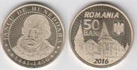 50 Bani 2016 Rumänien - Romania Ioan de Hunedoara(Johann Hunyadi)- Woiw... 1,50 EUR  zzgl. 4,50 EUR Versand