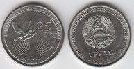 1 Rubel 2015 Transnistrien- Moldawien Moldova 25 Jahre Transnistrien un... 3,00 EUR  zzgl. 4,50 EUR Versand