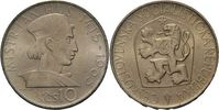 CSR / CSSR / CSFR - Tschechoslowakei 10 Kronen Jan Hus - 550. Geburtstag