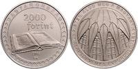 Ungarn - Hungary - Magyarorszag 2000 Forint 5. Jahrestag der Verabschiedung des Grundgesetzes