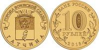 10 Rubel 2016 Rußland - Russia Gatschina - Heldenstadt Stempelglanz - u... 2,00 EUR  zzgl. 4,50 EUR Versand