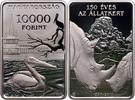 10000 Forint 2018 Ungarn - Hungary - Magyaroszág 150 Jahre Zoo in Budap... 56,00 EUR  zzgl. 4,50 EUR Versand
