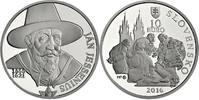 Slowakei - Slovakia - Slovensko 10 Euro Ján Jessenius – 450. Geburtstag