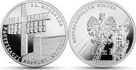 """10 Zlotych 2016 Polen - Poland - Polska 35 Jahre """"Befriedung"""" der Grube... 39,00 EUR  zzgl. 4,50 EUR Versand"""